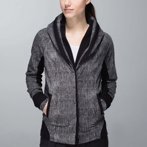 Lululemon To Class Jacket Button Down Sweater 10